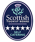 5 Star Luxury award from the Scottish Tourist Board
